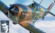 Using the skill and experience of former RAF pilot Tim Ellison, north London born photographer John Dibbs was able to fly to within 15ft of different Spitfire planes.