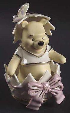 Lenox Disney Happy Easter Winnie The Pooh Figurine Spring