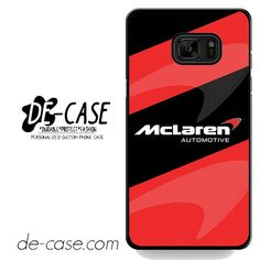 Mclaren Automotive DEAL-7010 Samsung Phonecase Cover For Samsung Galaxy Note 7