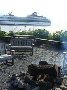 Icy Strait Point, Alaska Port Guide. Not able to pull up other ports.  website allows to put in cruise info and lists all excursions with prices