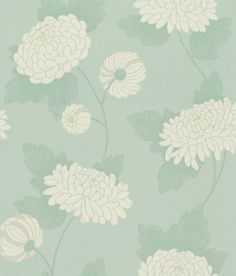 Wilde Chrysanthemum wallpaper by Osborne & Little