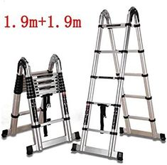 YYHSND Folding Ladder Engineering Herringbone Straight Double Ladder Telescopic ...#double #engineering #folding #herringbone #ladder #straight #telescopic #yyhsnd Slippery Floor, Folding Ladder, Herringbone Backsplash, Window Cleaner, Furniture Plans, Telescope, Bamboo, Stool, Engineering