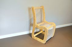 The Rope Chair by Christian Andree, via Behance