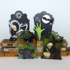 By Kimberly Heil for the Retro Café Art Gallery 2014 Tombstone Art Swap! www.RetroCafeArt.com