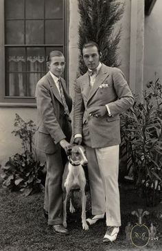 Valentino and Horace Wade http://www.gentlemansgazette.com/rudolph-valentino/