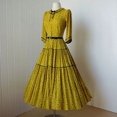 1940s Marian Hotchkiss dress