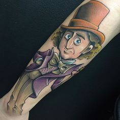 I'm not sure if I ever posted just a full picture of this Willy Wonka from a while ago. One of my favorite tattoos in recent memory. Also my books are open for October-December so if you would like to squeeze in shoot me an email to Brandooms@gmail.com thanks for being patient while I sift through all the emails and sort everything out!
