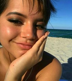 @ the beach yesterday and didn't bother to take off the eyeshadow Dora Movie, Isabela Moner, Press Tour, Girl Humor, Hollywood Actresses, Cool Drawings, Dreaming Of You, Love Her, Portrait