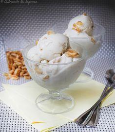 Inghetata cu Banane (fara zahar, fara frisca, continut scazut de grasimi, 100% sanatoasa) Make Ice Cream, Homemade Ice Cream, Stevia, Parfait, Deserts, Keto, Sorbet, Workshop, Food