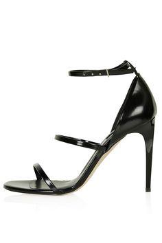 #topshop skinny strap #sandals