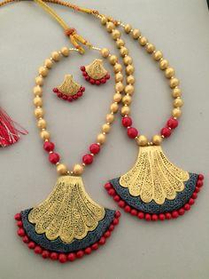 Golden red Terracotta set
