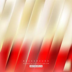 Abstract Red Gold Striped Background #freevectors