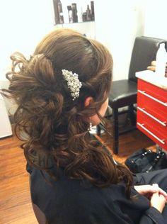 F/W 2013 Wedding Season: Hair and Makeup #Ottawa #bridal #wedding #hair #bride #updo #Natalie #TextureHairSalon #stylist #salon