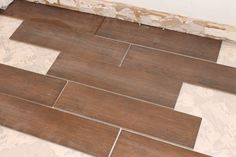 Tips for laying ceramic wood tile  love wood look tile