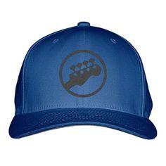 Guitar Embroidered Baseball Cap