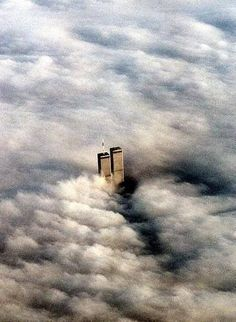 "Twin Towers 9-11-2001___""On a quiet morning...before evil came..."""