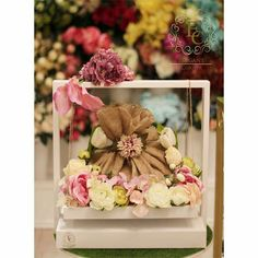 Ramadan Decorations, Flower Decorations, Wedding Gift Wrapping, Wedding Gifts, New Project Ideas, Ramadan Gifts, Marriage Gifts, Diy Gift Box, Flower Boxes