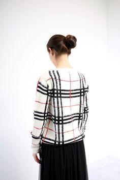 DANI Maglia Check La trovi in tutti i negozi #DANI e nello shop on line: http://goo.gl/J9cBGk #fattiunregalo #red #white #quadro