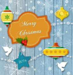 Christmas 2014, Christmas And New Year, Merry Christmas, Holiday Cards, Christmas Cards, New Year Holidays, Ornament, Retro, Xmas Cards