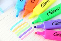 Candy colored marker Chen, Games Box, Name Signs, Candy Colors, Markers, Stationary, Accessories, Sharpies, Name Labels