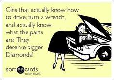 So true girls that turn wrenches are hotter too