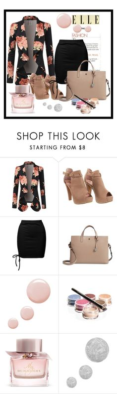 """""""#010"""" by dijana1786 ❤ liked on Polyvore featuring Doublju, Sans Souci, Lodis, Topshop, Bellápierre Cosmetics and Burberry"""