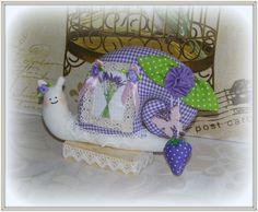 Lavendelschnecke