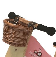 Kinderfeets - Balance Bike Wicker Basket | Minimacko