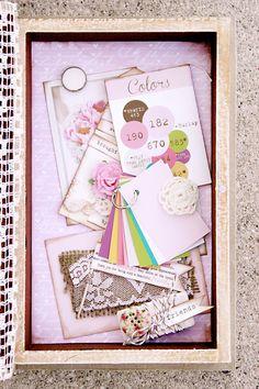 Handmade boxes bridesmaids invitations box bridesmaid invitations