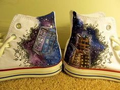 Fantastic Doctor Who Converse