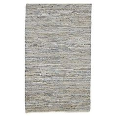Recycled Denim Jute Rug on westelm.com  Such a great idea! Rugs out of old fabrics! Totally gonna try and make my own :)