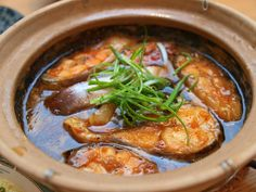 Vietnamese caramel fish - so delicious! We used tilapia filets (on sale) and found the flavor to be just wonderful. Vietnamese Fish, Vietnamese Cuisine, Vietnamese Recipes, Asian Recipes, Ethnic Recipes, Vietnamese Restaurant, Asian Foods, Fish Dishes, Seafood Dishes