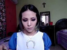 ▶ Alice Madness Returns Cosplay Tutorial makeup - YouTube