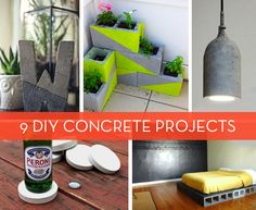 9 DIY Concrete Projects to Try this Weekend » Curbly | DIY Design Community