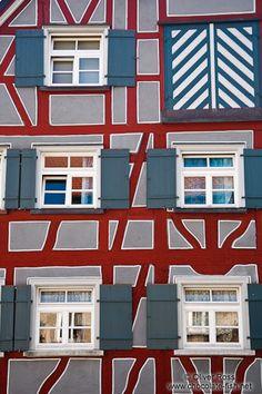 Timber-framed house in Wangen - Allgäu, Baden-Württemberg - Germany