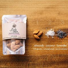Lush Nuts #packaging #nuts curated by Copious Bags