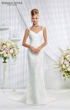 sheath wedding gowns