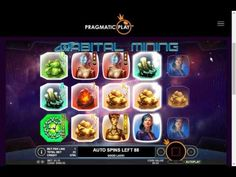 Play Orbital Mining for Free @ Pragmatic Play Play Casino, Best Games, Free