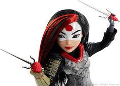 Mattel has unveiled their SDCC Exclusive DC Super Hero Girls Katana figure! The new figure will only be available at the convention and Dc Superhero Girls Dolls, Superhero Images, Super Hero High, Dc Super Hero Girls, Super Heros, Barbie 80s, Ever After High, Monster High, Image Favorites