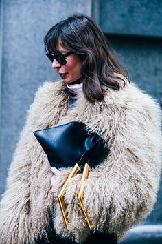 Street Looks at New York Fashion Week Fall/Winter 2015-2016 85