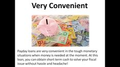 Payday Loans- Get Fast Cash Online to Manage Short Term Expenses Easily