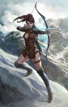 English Archer by Artgerm.deviantart.com on @deviantART