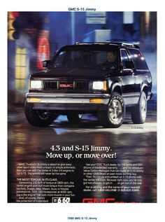 1988 GMC S-15 Jimmy 4.3