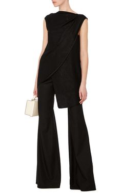 A tailored approach to the palazzo style are these **Hensely** pants rendered in…