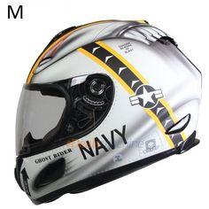 Men Motorcycle Full Face Original GDG 802Helmet Anti-Dazzle Visor / DOT Standar