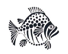 Big fish stencil made custom from a variety of materials by application and… Fish Stencil, Stencils, Stencil Painting, Fish Patterns, Stencil Patterns, Stencil Designs, Stencil Templates, Doodle Drawing, Arte Tribal