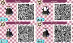 my name is claudia and you can find qr codes for animal crossing here! I also post non qr code related stuff so if you're only here for the qr codes please just blacklist my personal tag. Animal Crossing Wiki, Animal Crossing Qr Codes Clothes, Stranger Things, Motif Acnl, Kleidung Design, Ac New Leaf, Happy Home Designer, Motifs Animal, Alice Madness