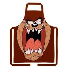 Avental Taz Looney Tunes