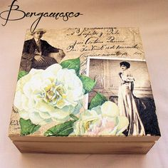 Vintage Romance - Decoupage Box