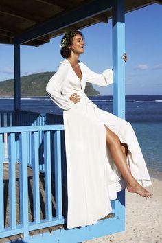 Bohemian Wedding Dress if I had a bohemian beach wedding if contemplate it.